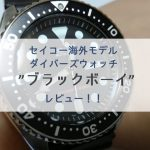 【レビュー】逆輸入ダイバーズの大定番!セイコー海外モデル「ブラックボーイ(SKX007KC)」【画像多め】