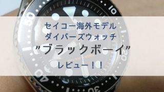 【レビュー】セイコー海外モデルダイバーズ「ブラックボーイ(SKX007KC)」/NATOベルト交換【画像多め】