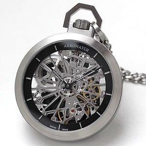 懐中時計 スケルトン