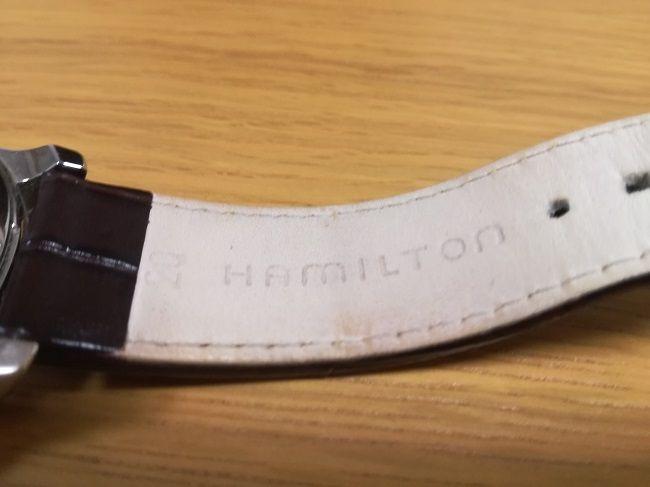 ハミルトン「ジャズマスターオープンハート(H32565555)」ベルト