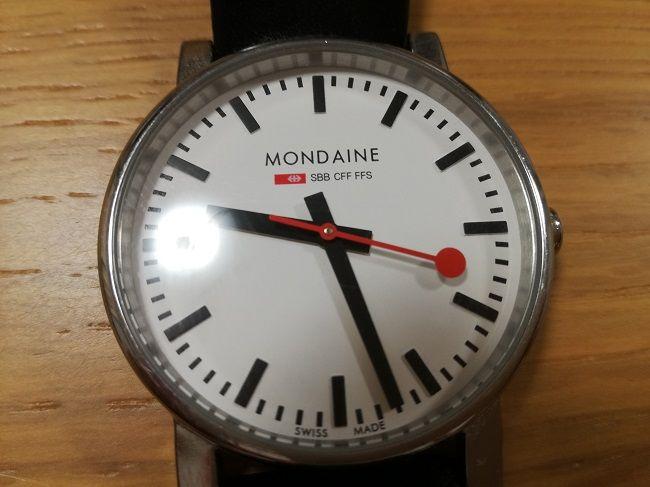 モンディーン「エヴォA658.30300.11SBB」正面画像