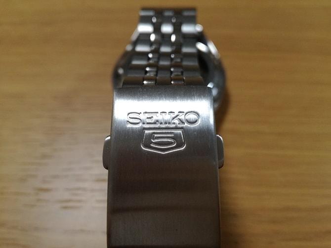 セイコー5 SNKL29K1 バックル