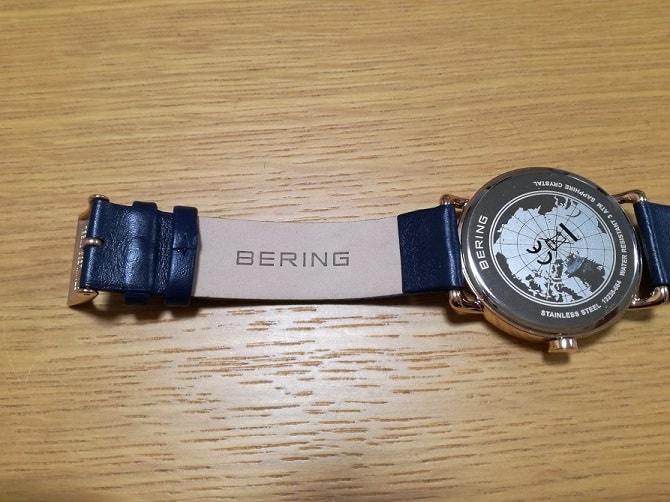 BERING(ベーリング)CALF LEATHER 13238-664 ベルト裏側