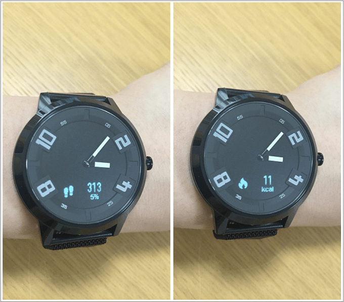 Lenovo Watch X 歩数計・カロリー計算画像