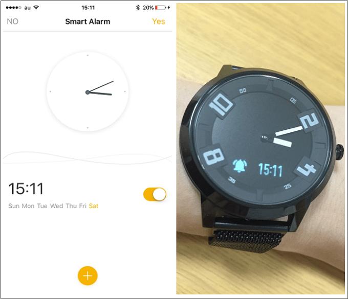 Lenovo Watch X タイマー設定