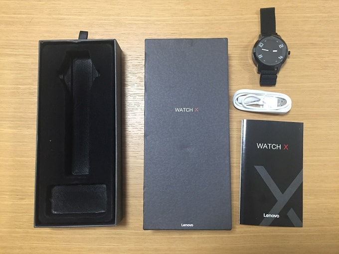 Lenovo Watch X 同封物一覧